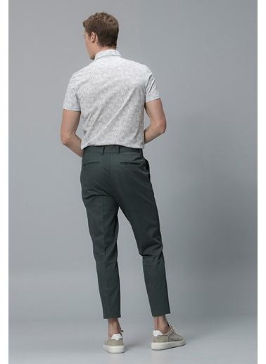 Lufian Loranı Smart Chino Pantolon Slim Fit  Yeşil